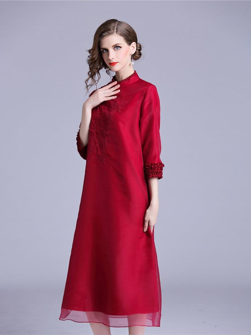 Платье красное | 5155197