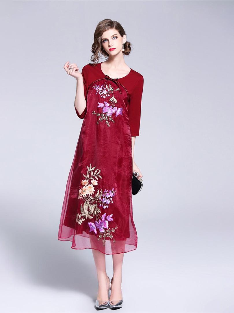 Платье красное   5155202