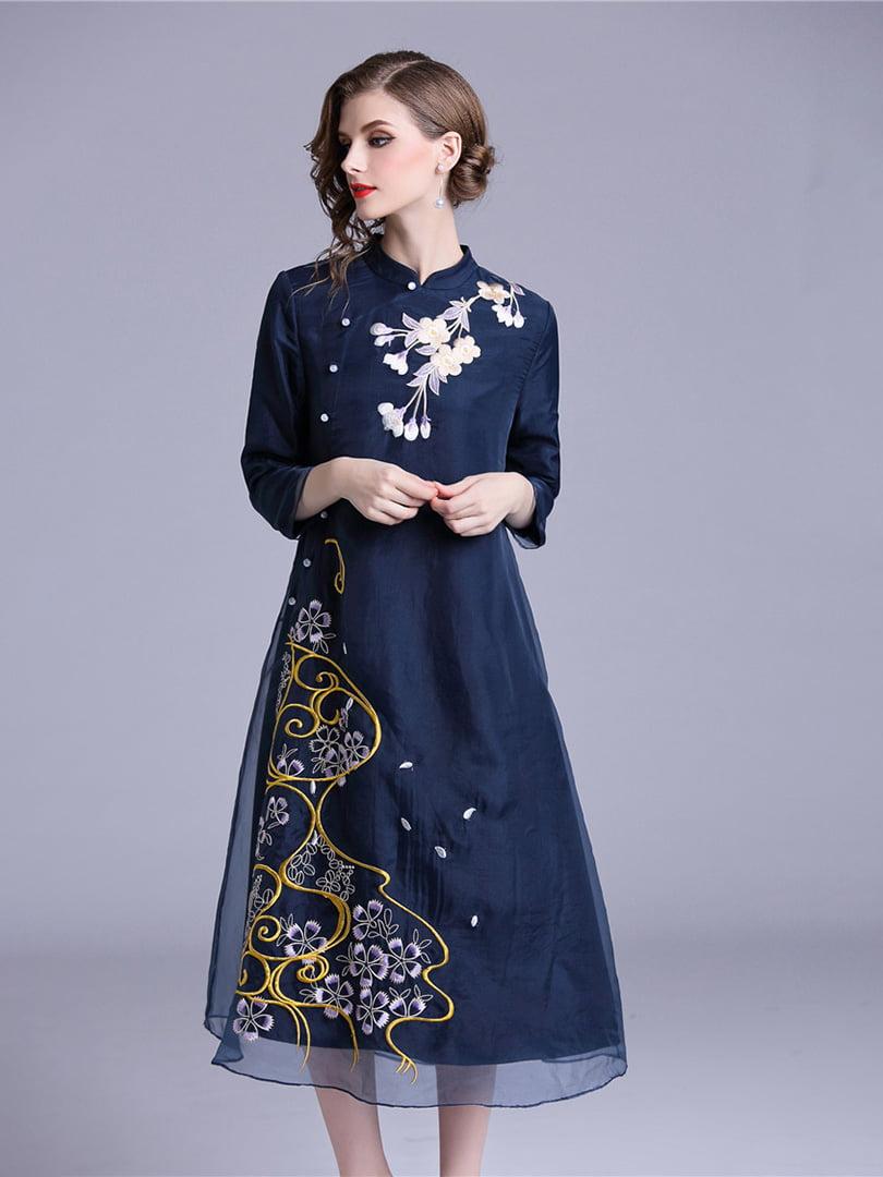 Платье синее | 5155204