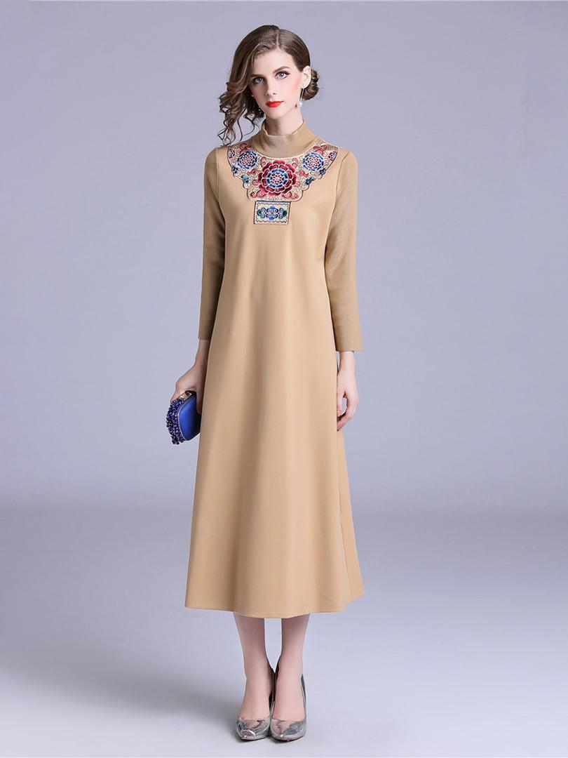 Платье абрикосового цвета   5155206