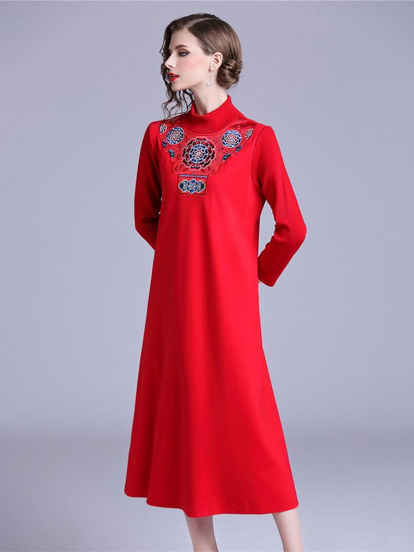 Платье красное | 5155207