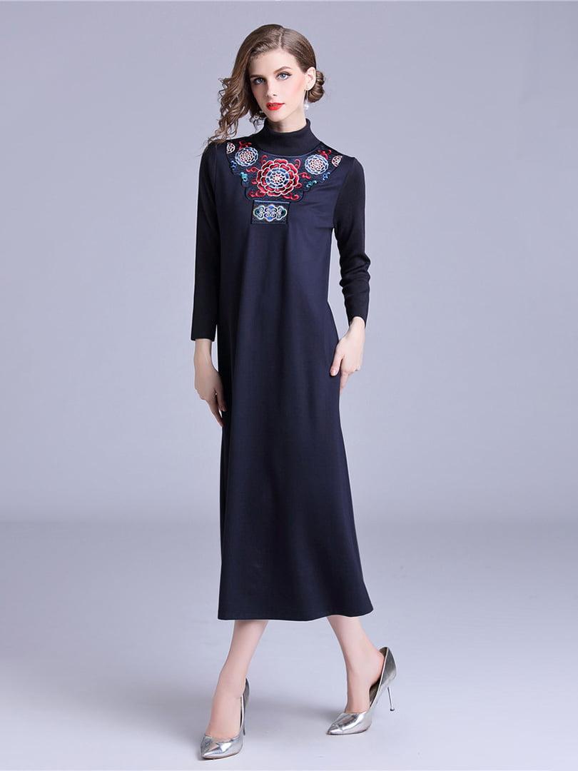 Платье синее | 5155208