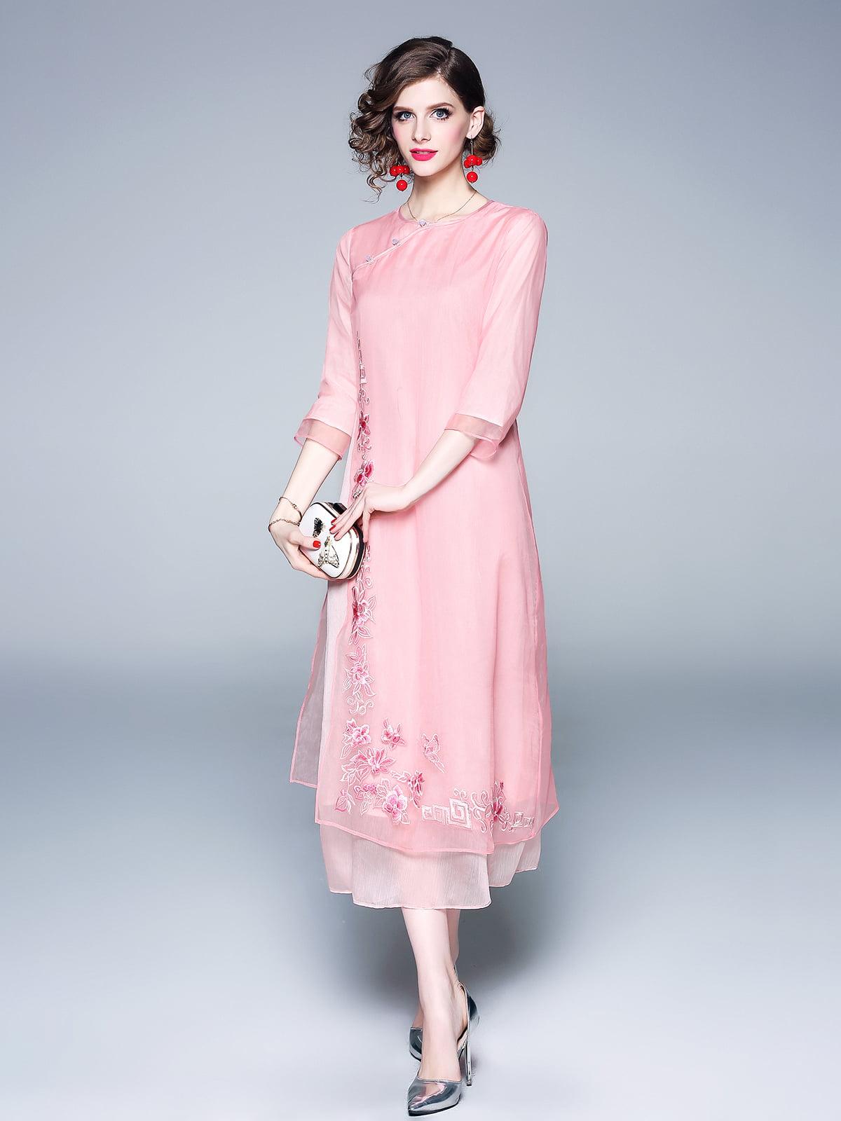 Платье розовое | 5155220