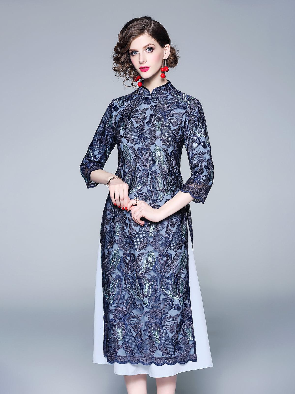 Платье синее | 5155221