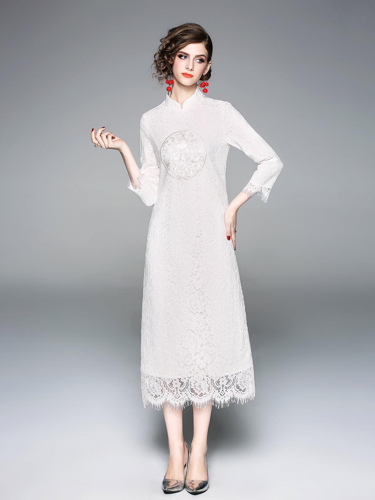 Платье белое   5155224
