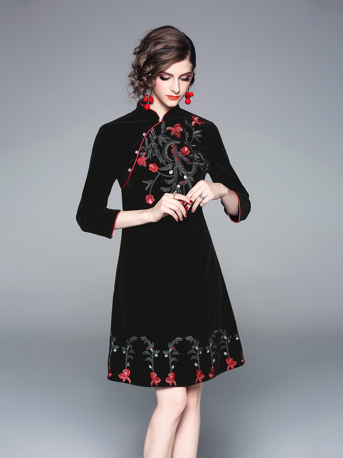 Платье черное | 5155227