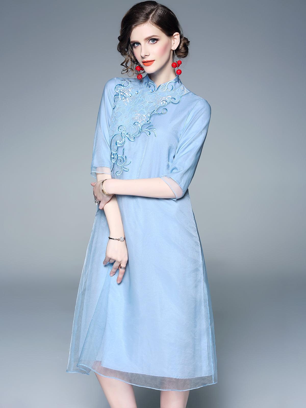 Платье синее | 5155236