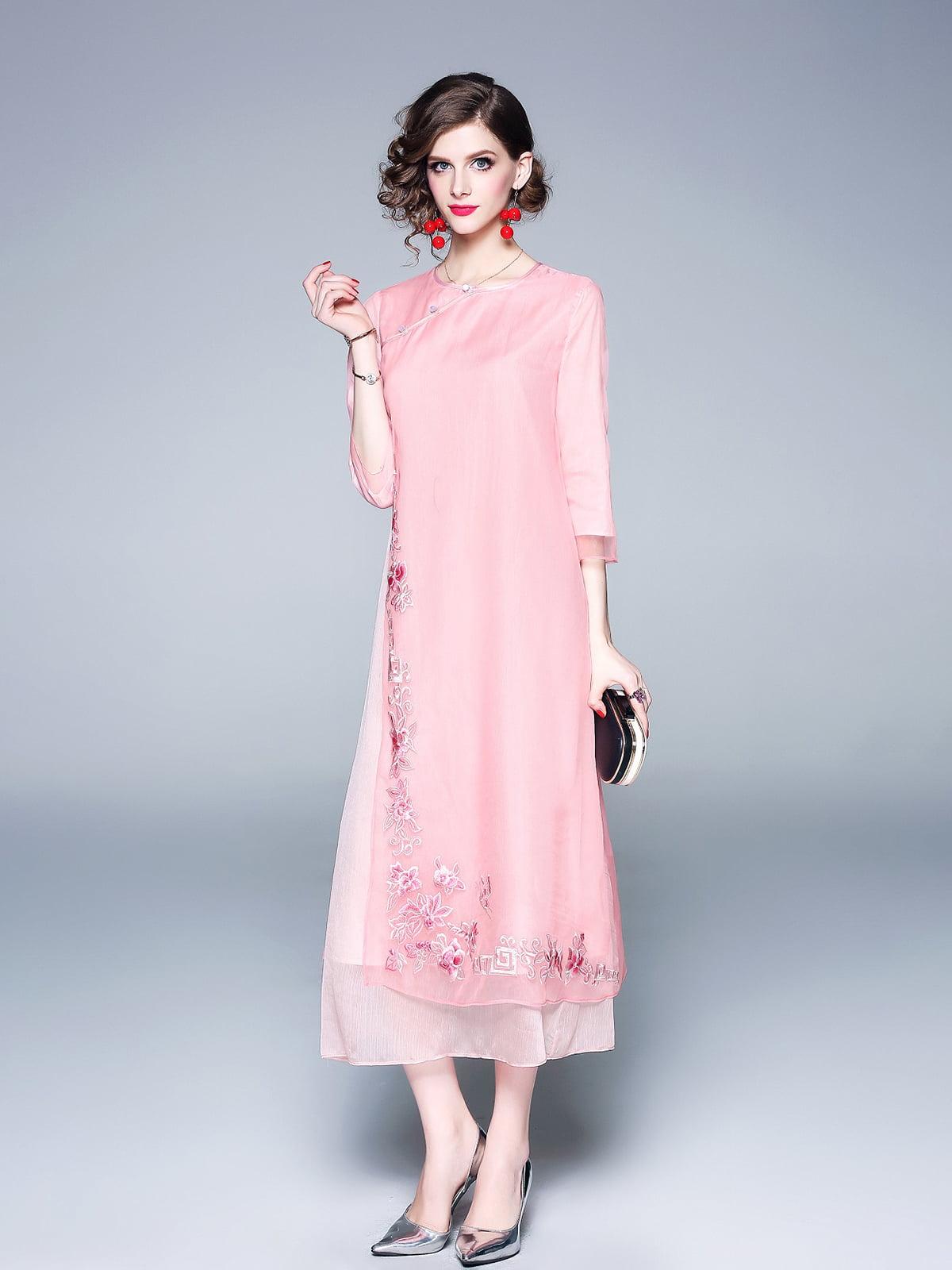 Платье розовое | 5155258