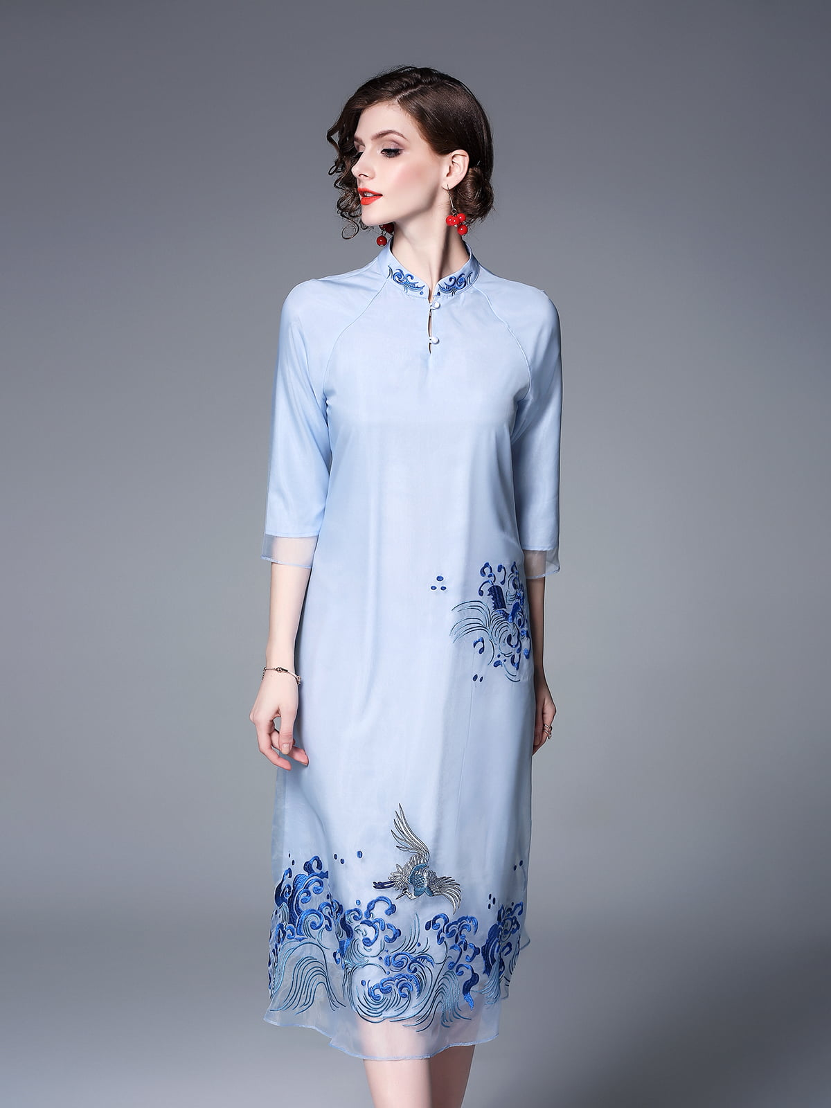 Платье синее | 5155259