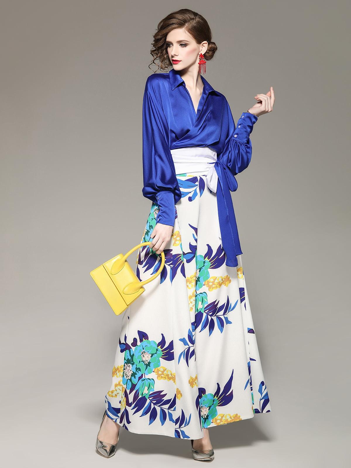Комплект: блуза и брюки   5155280