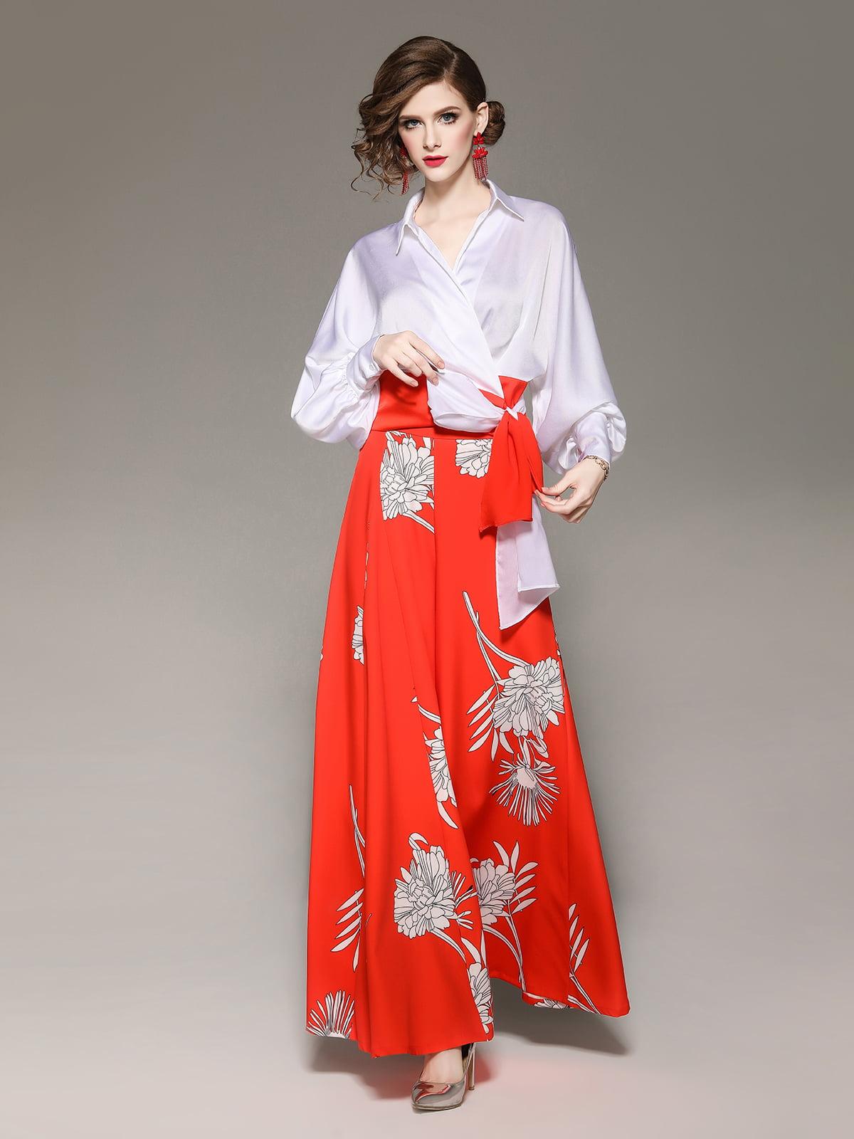 Комплект: блуза и брюки | 5155281