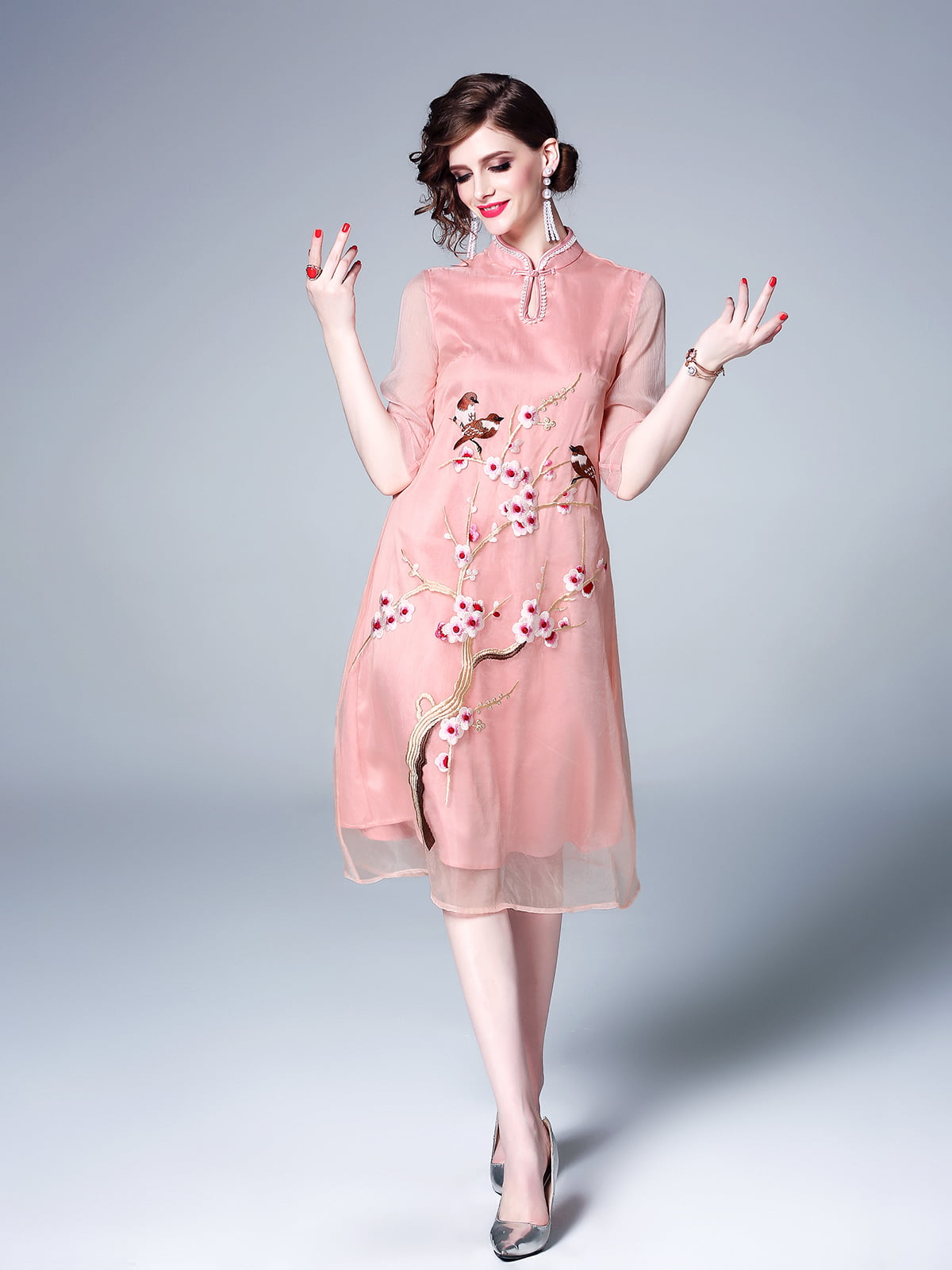 Платье розовое | 5155289