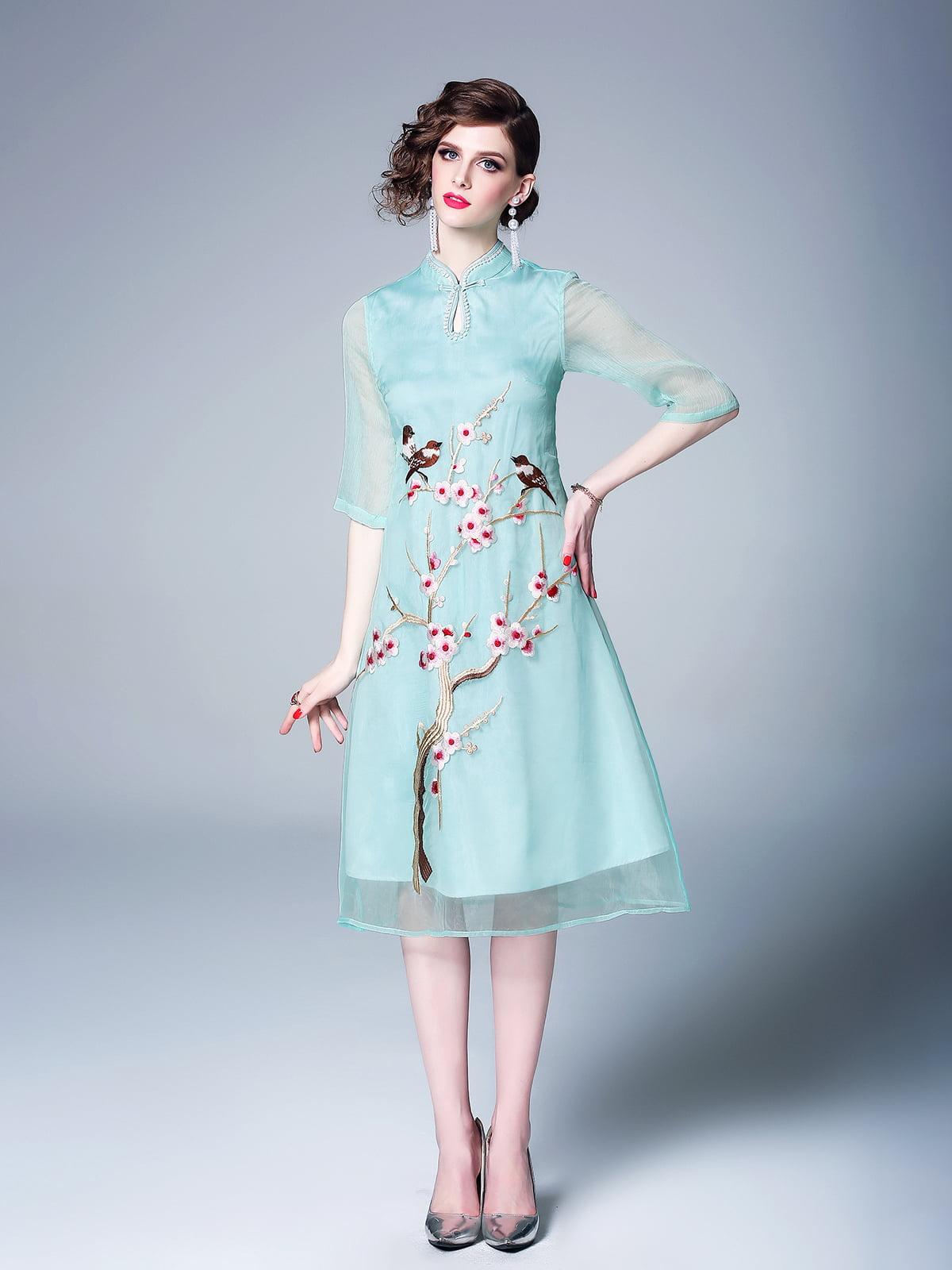 Платье зеленое | 5155290