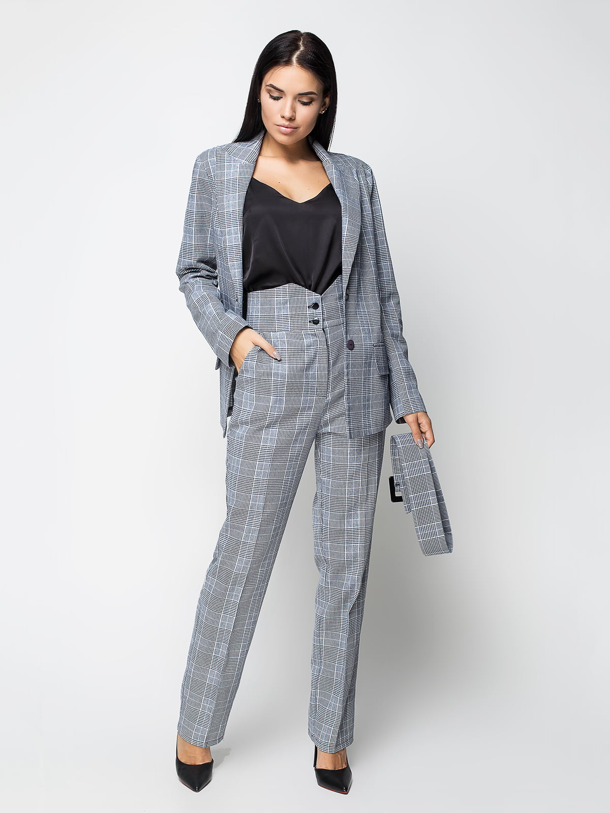 Костюм: жакет и брюки | 5155439