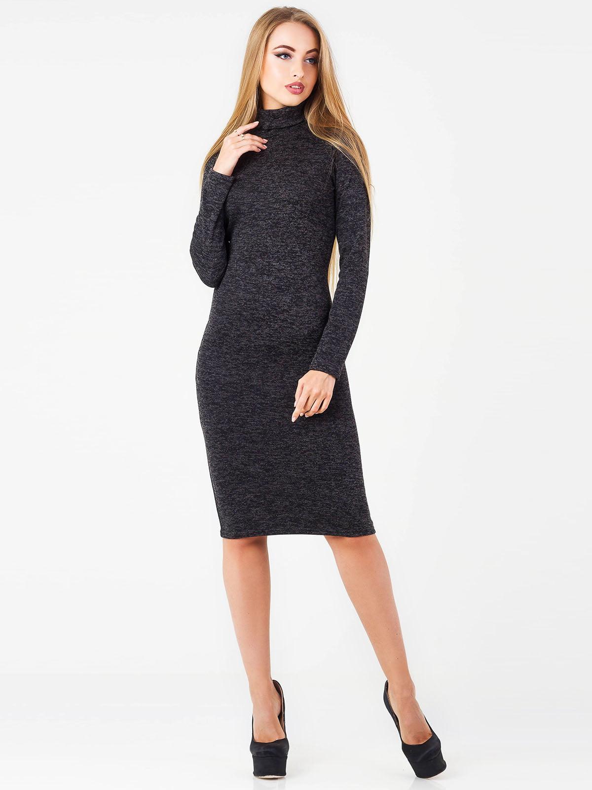 Платье темно-серое | 5155420