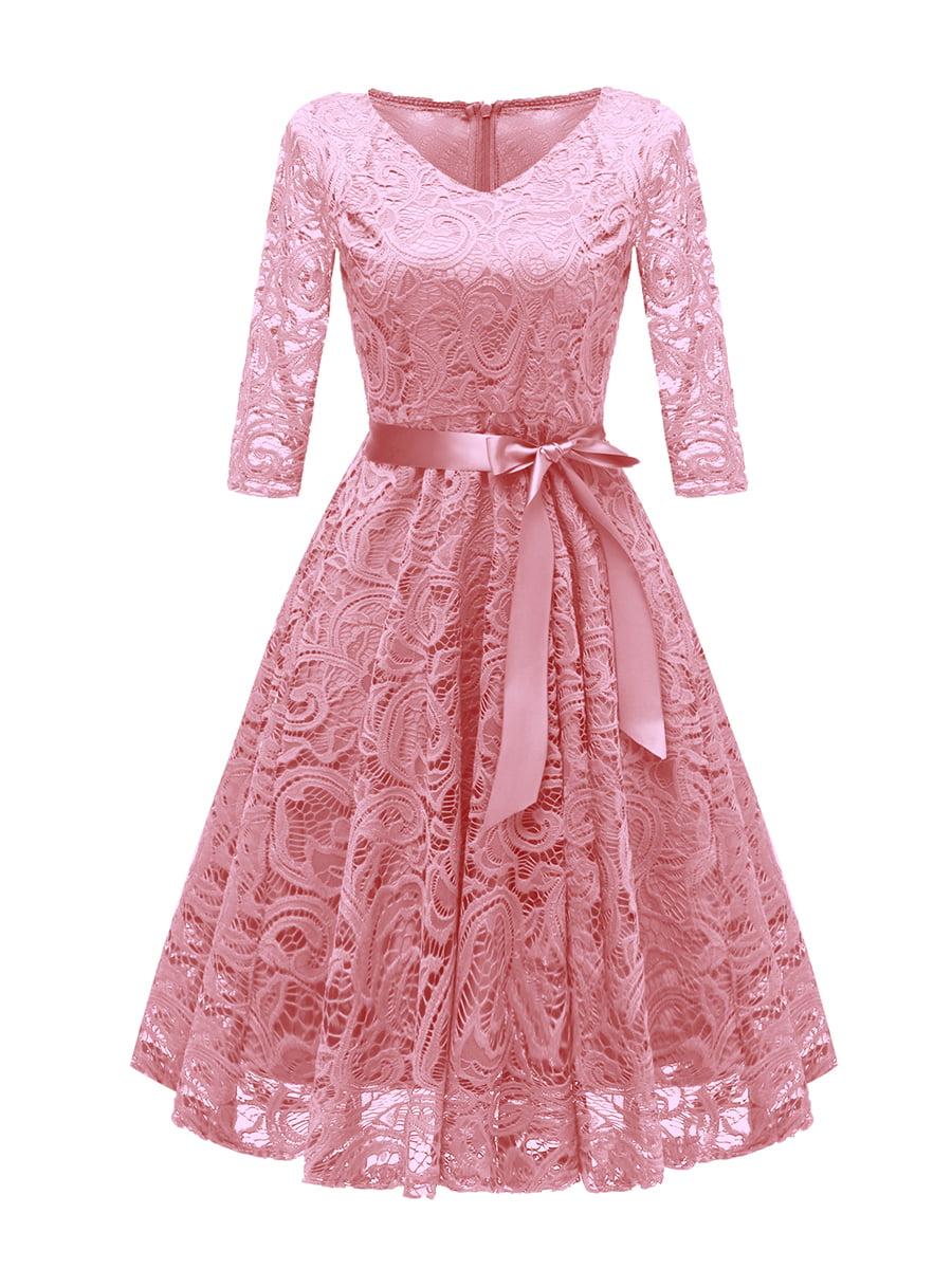 Платье розовое | 5156170