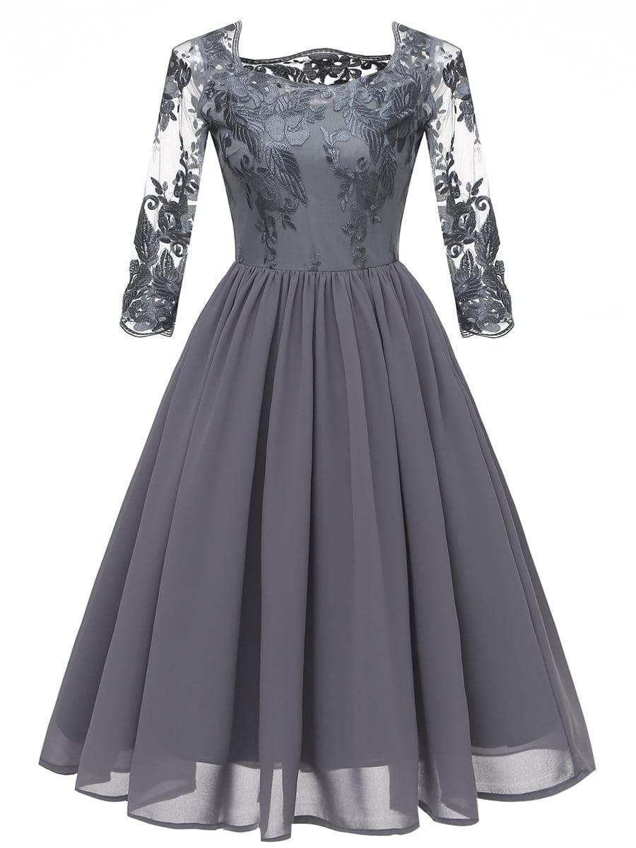 Платье серое | 5156192