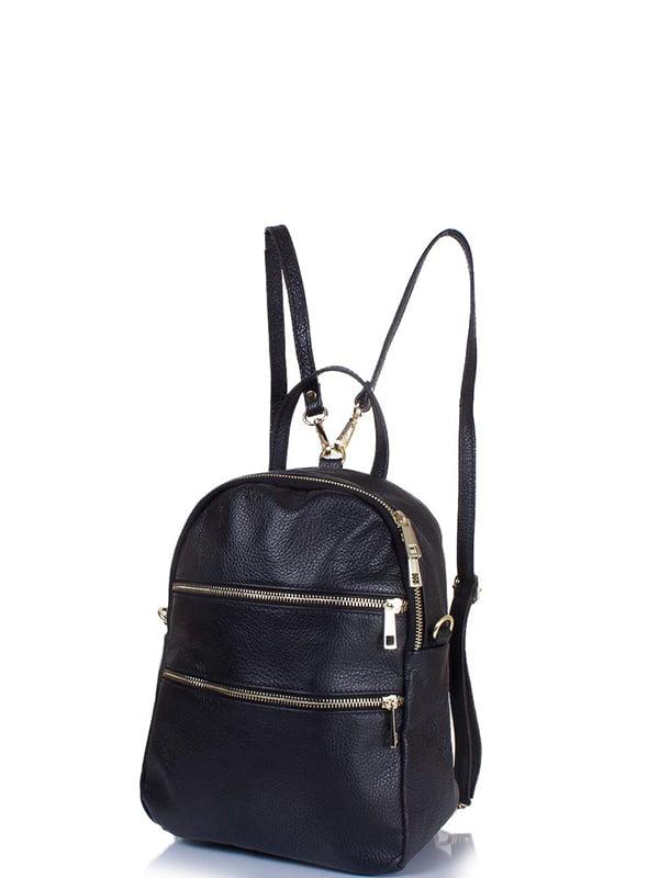 Сумка-рюкзак чорна | 5157127