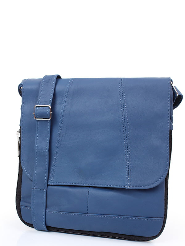 Сумка-поштарка синя | 5157238