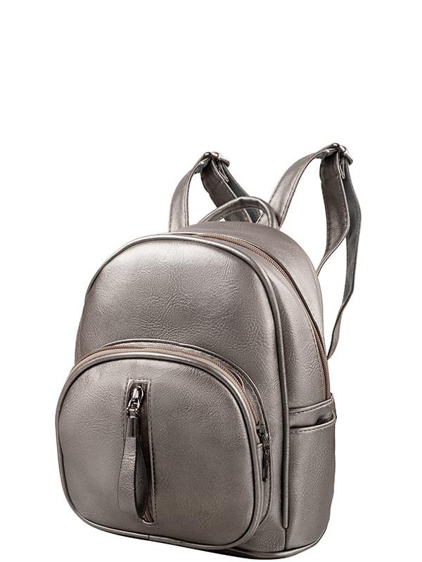 Рюкзак серебристий | 5157427