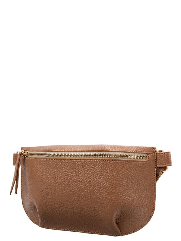 Поясная сумка коричневая   5157435