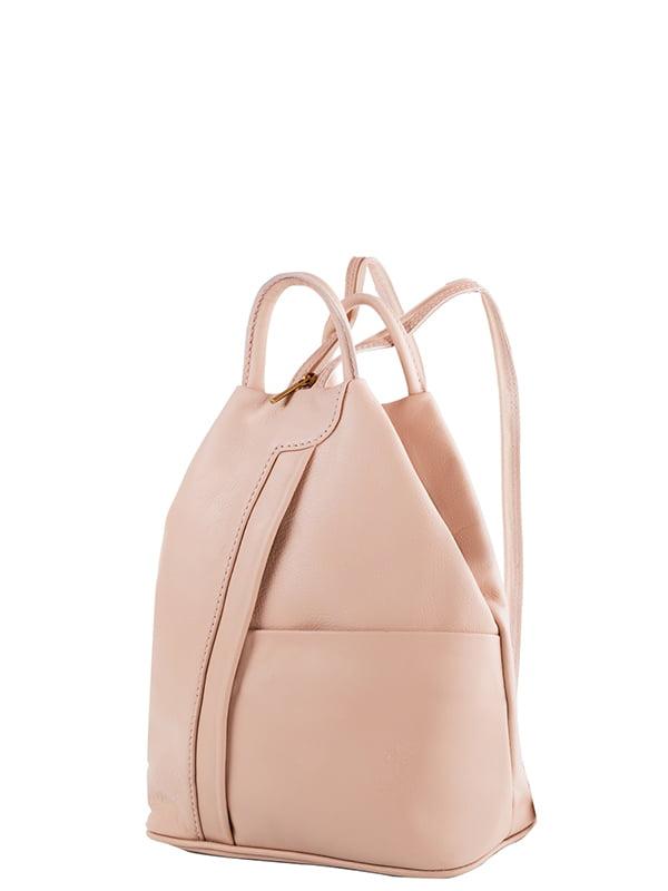 Рюкзак пудрового кольору   5157446