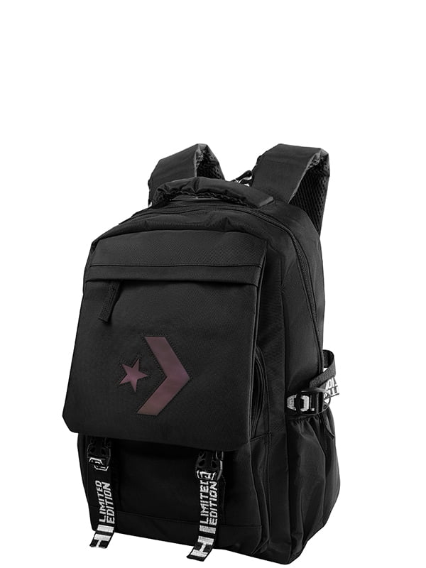 Рюкзак чорний з логотипом   5157455