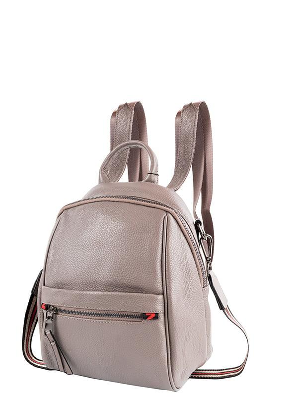 Сумка-рюкзак сіра | 5157829