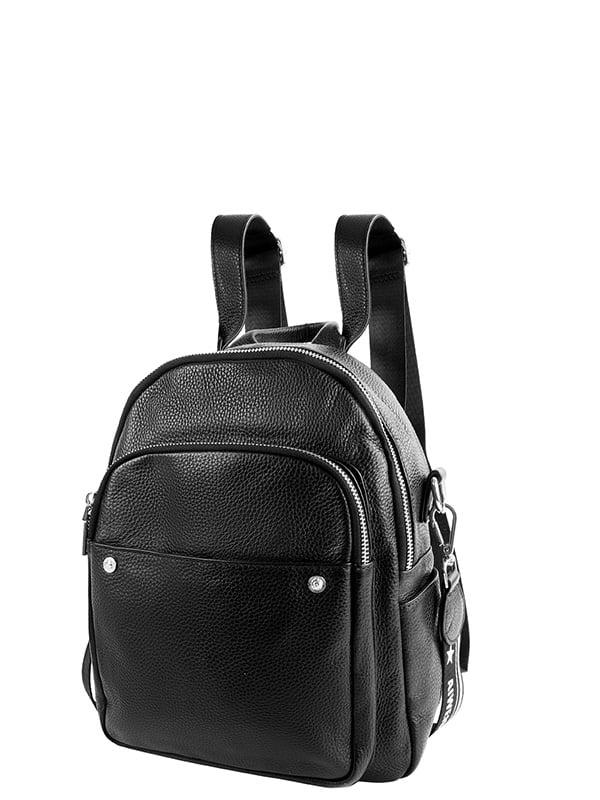 Сумка-рюкзак чорна   5157830