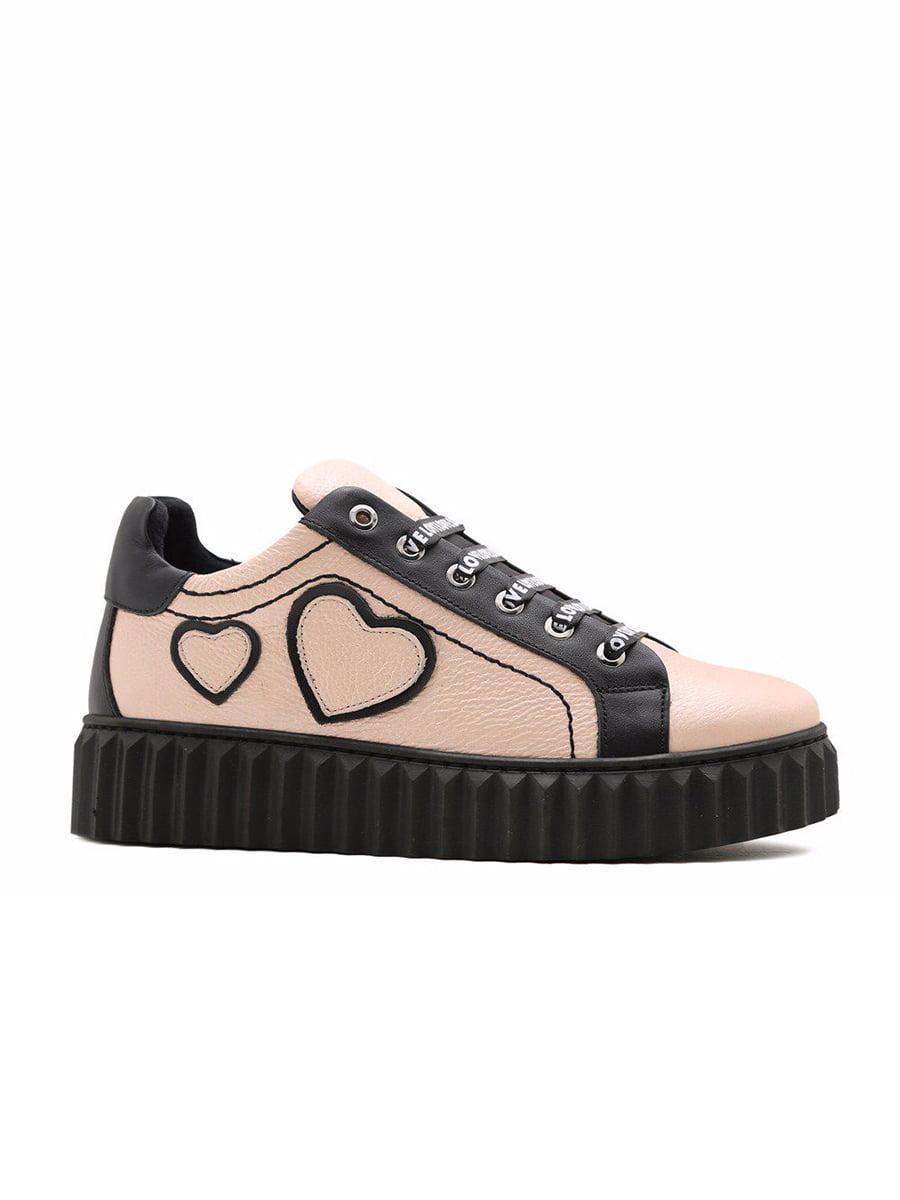 Туфлі чорно-рожеві | 5162217