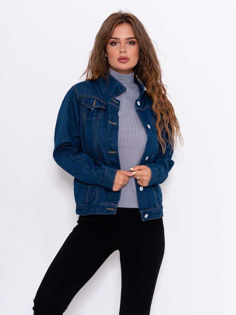 Куртка джинсовая синяя | 5162475