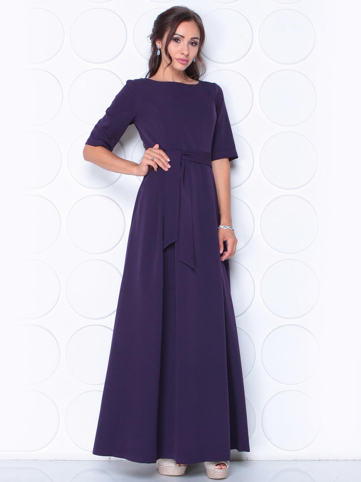 Платье фиолетовое | 5163355