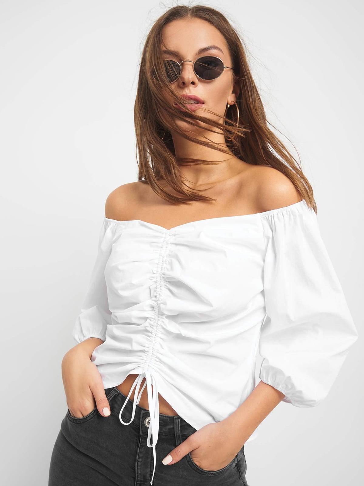 Блуза біла | 5155886