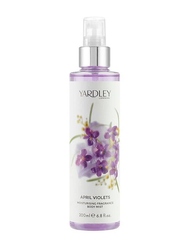Спрей для тіла April Violets (200 мл) | 5096349