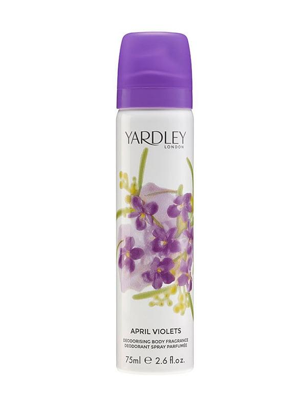Дезодорант April Violets (75 мл) | 5117104