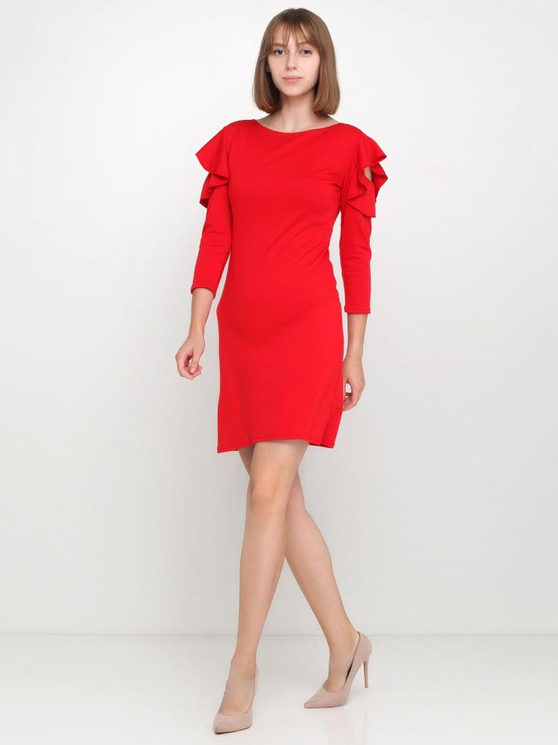 Платье красное | 5164219