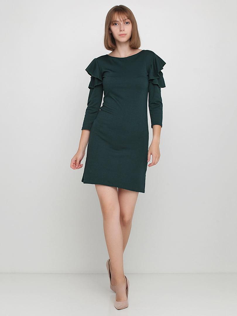 Платье измрудного цвета | 5164221