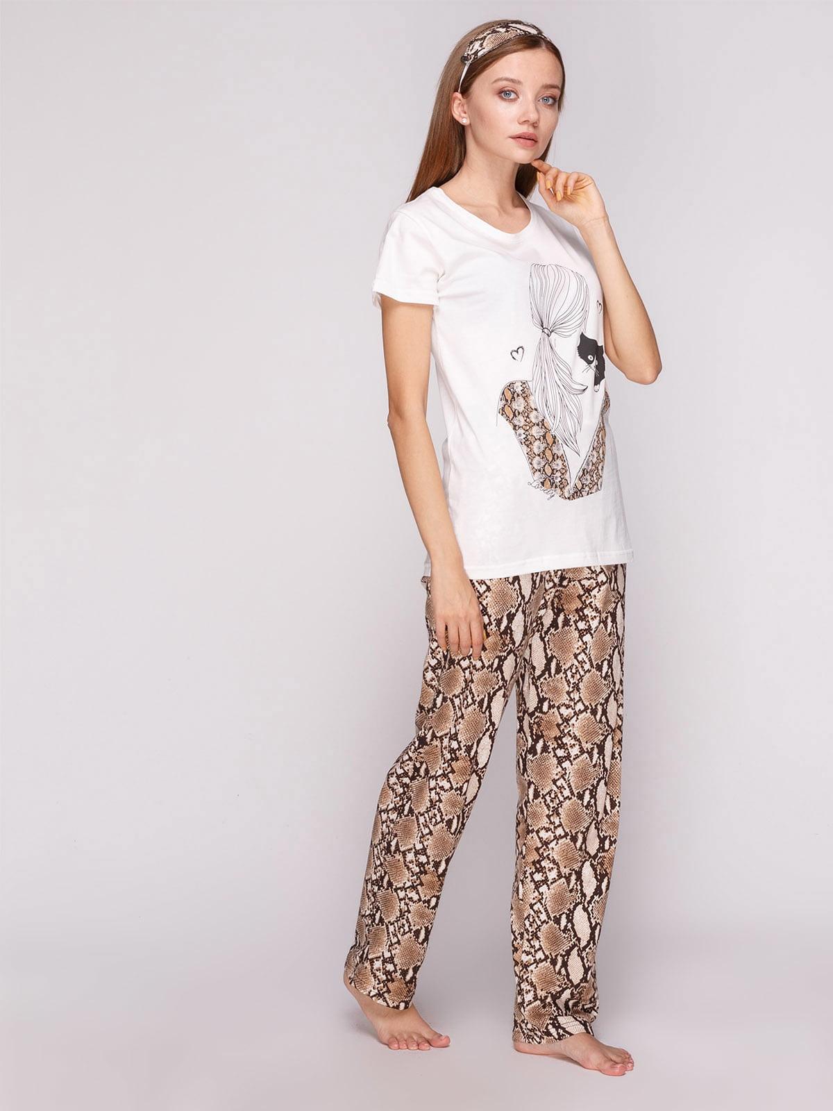 Піжама: футболка і штани | 5159223