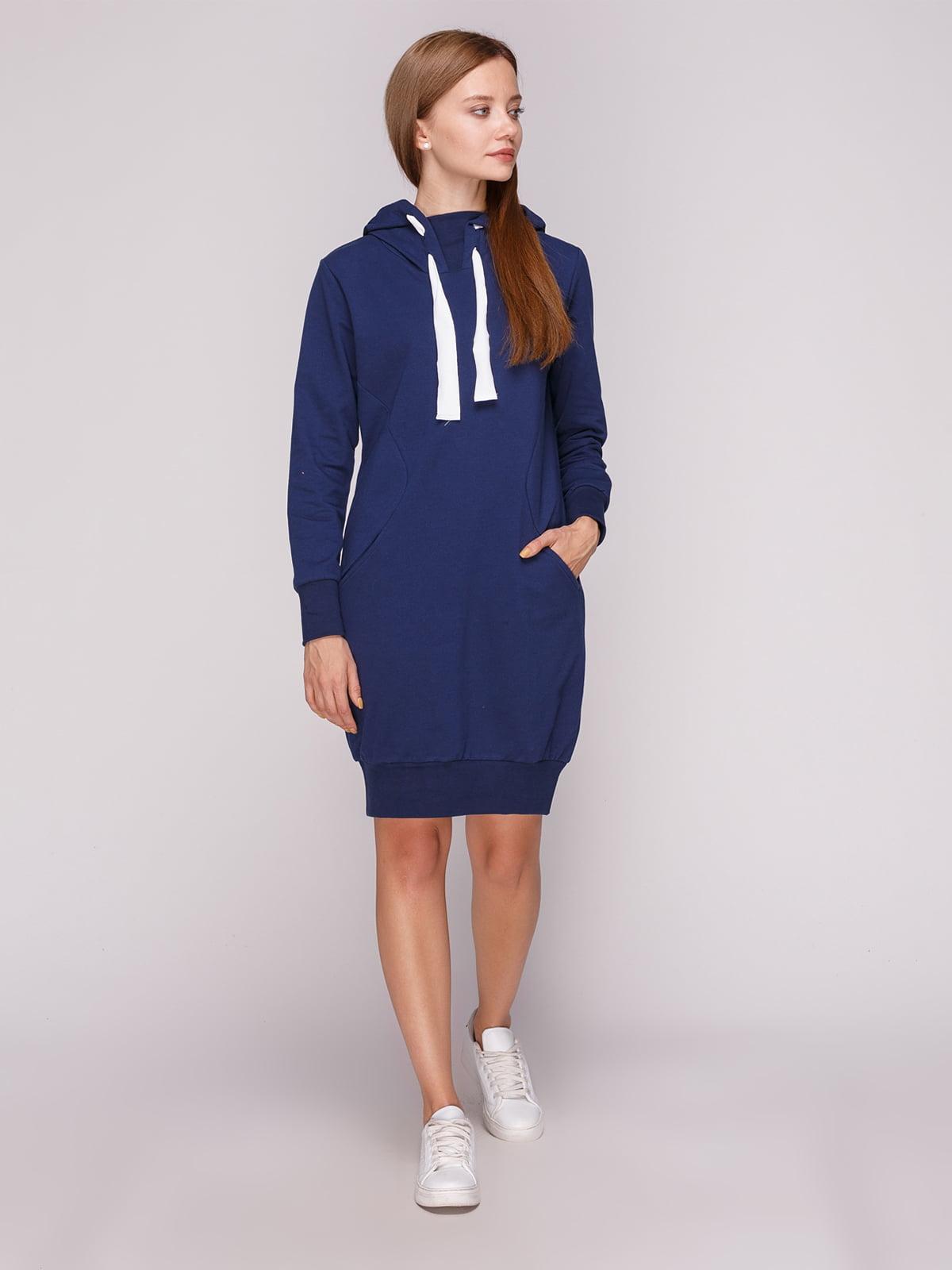 Платье темно-синее | 5163573