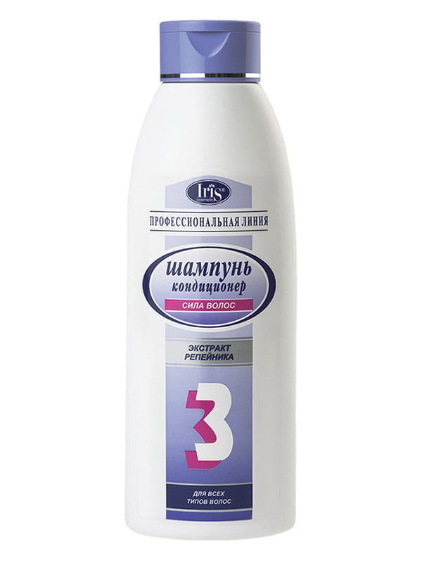 Шампунь №3 «Сила волос с маслом репейника» (1 л)   5082934