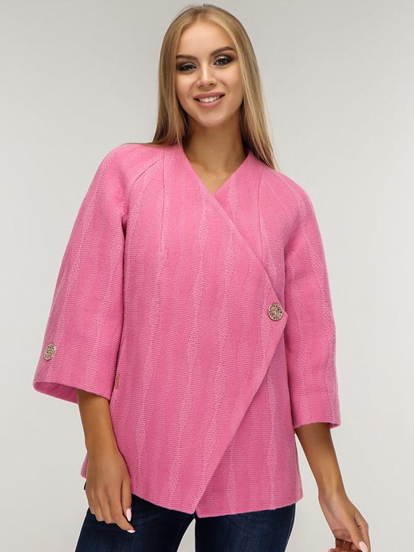 Пальто розовое | 5165659
