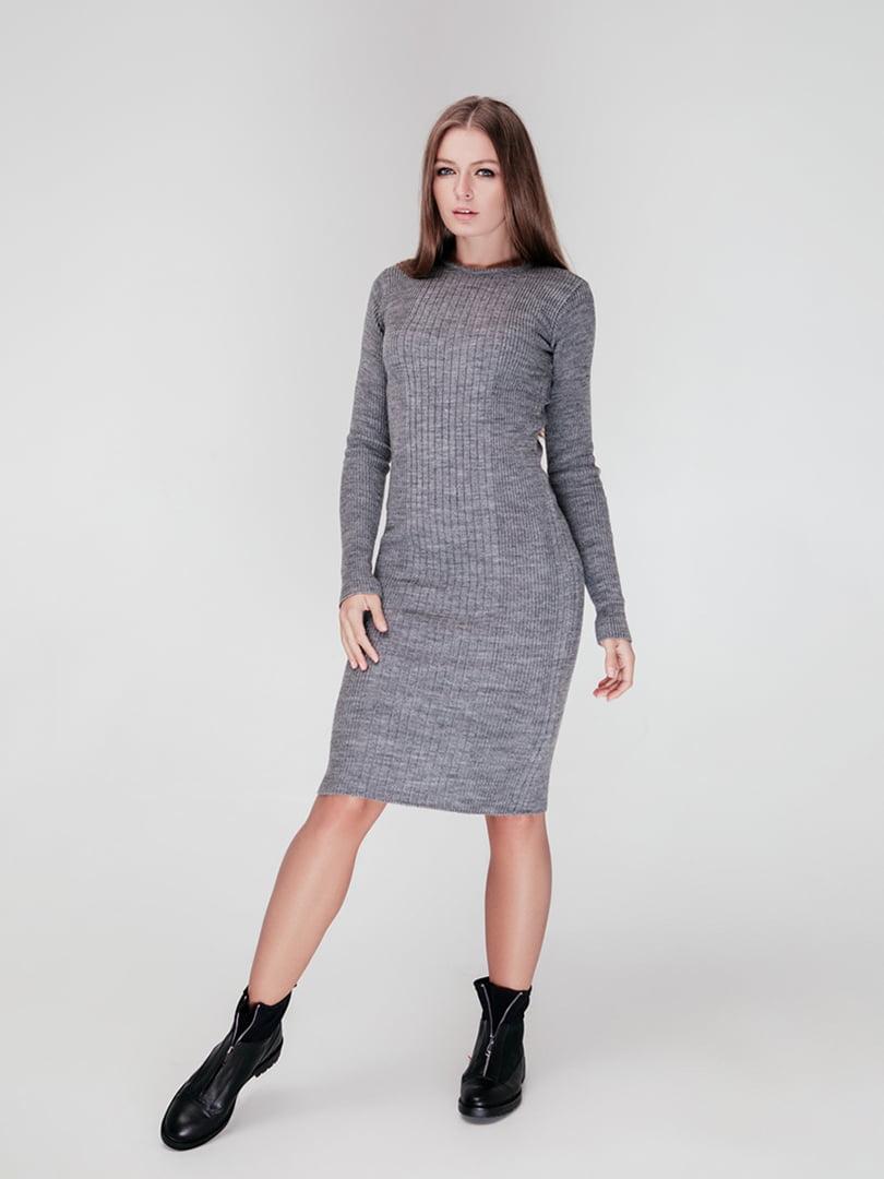Сукня сіра | 4712536