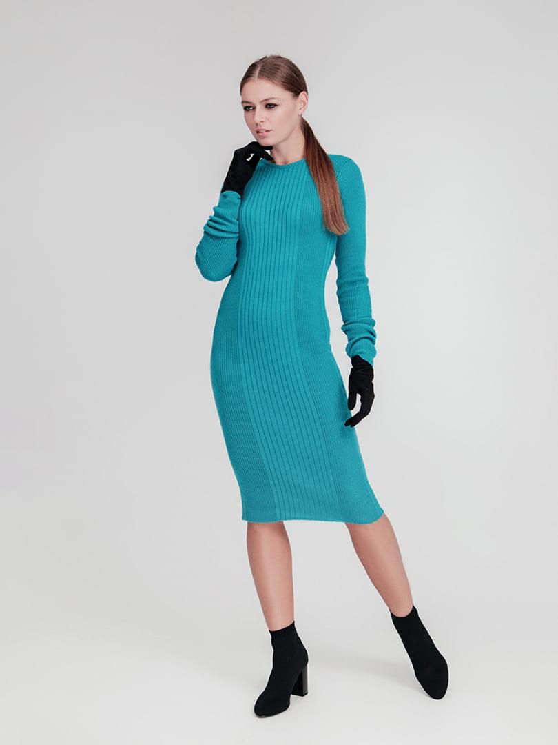 Сукня бірюзова | 4712538