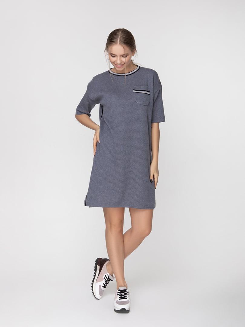 Платье серое | 5166354