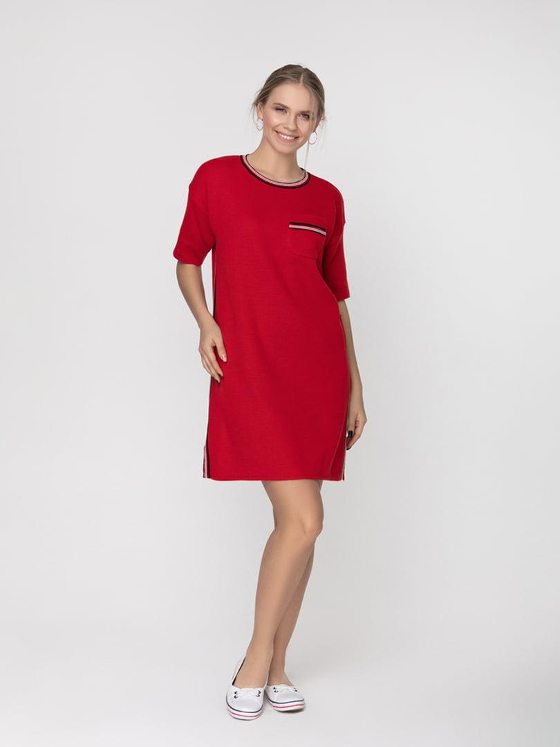 Платье красное | 5166355