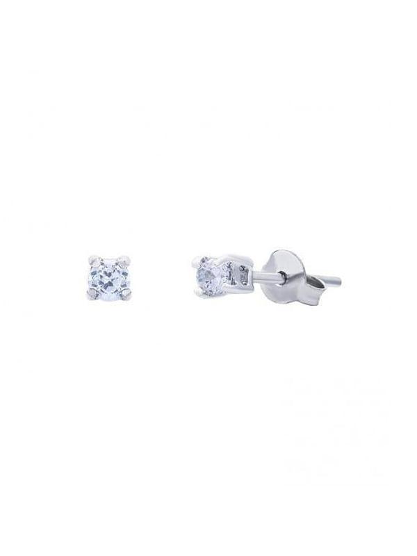 Серебряные серьги с куб. циркониями | 5166973