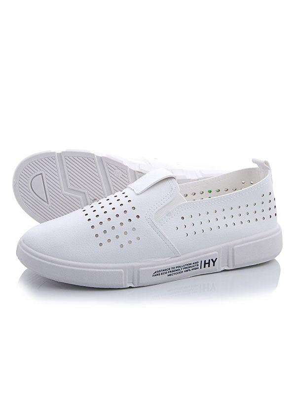 Слипоны белые | 5165927