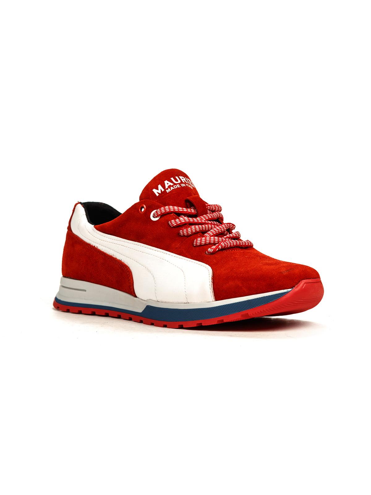 Кроссовки красно-белые | 5165034