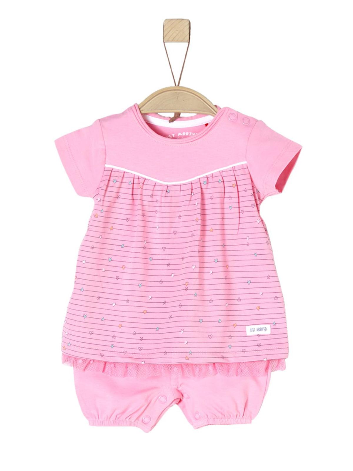 Сукня-боді рожева | 5168100
