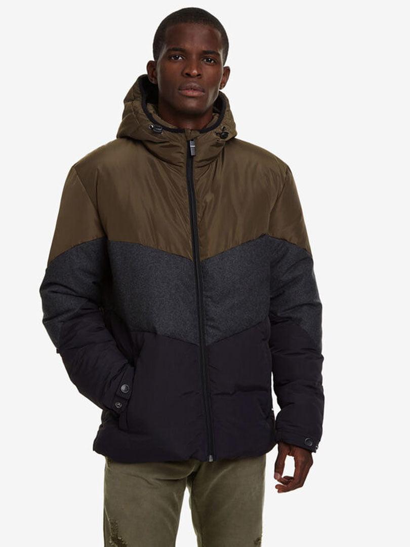 Куртка триколірна | 5162927